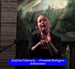 Josefina Colmenero Escribano. Fuente: AcKarcomen